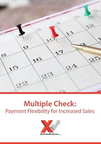 Multiple Check service provides payment flexibility and boosts sales