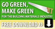 building materials green saw small