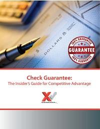 Check Guarantee service drives increased sales