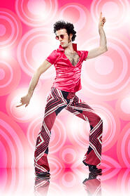 1980s disco guy