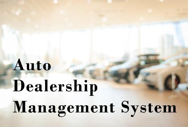 Auto Dealership Mgt System