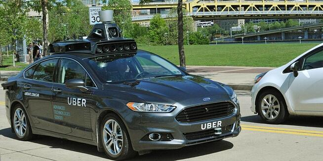 Digital Spy's Article Featured a Snap of Uber's Self-Driving Car