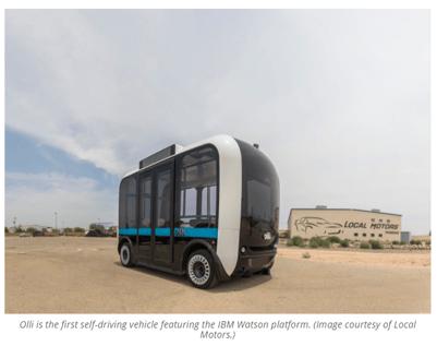Local Motors' Self-Driving Bus Olli