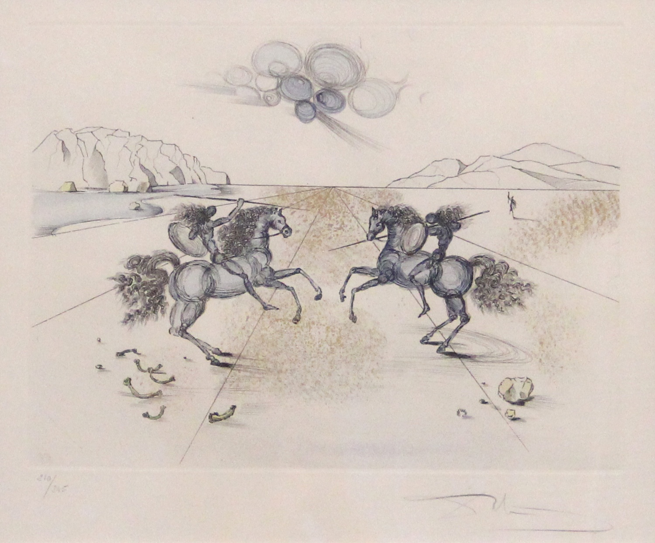 Battle at Tetuan by Salvador Dali