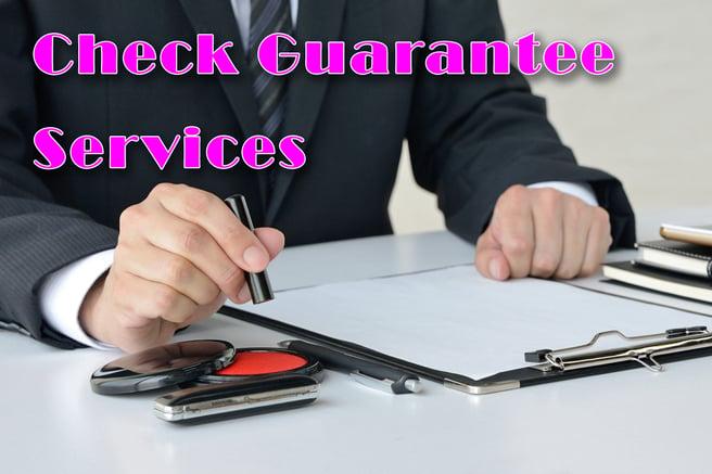 Check Guarantee Services