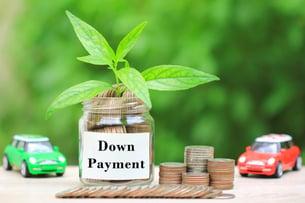 Down Payment Leaf Jar