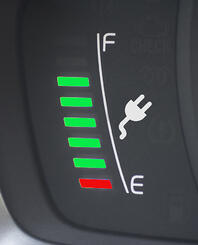 EV charge dashboard gauge-1