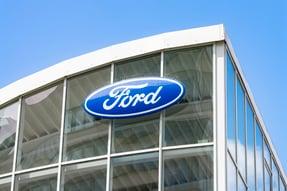 Ford Dealership front