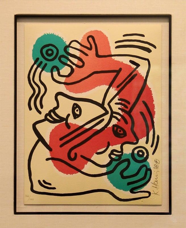 International Volunteer Day by Keith Haring