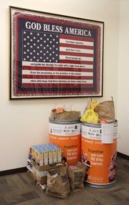 CrossCheck's Food Drive for the Redwood Empire Food Bank
