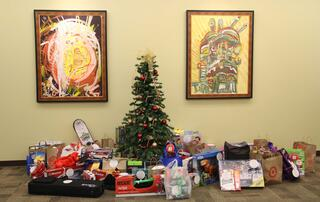 CrossCheck sponsors a Salvation Army Angel Tree