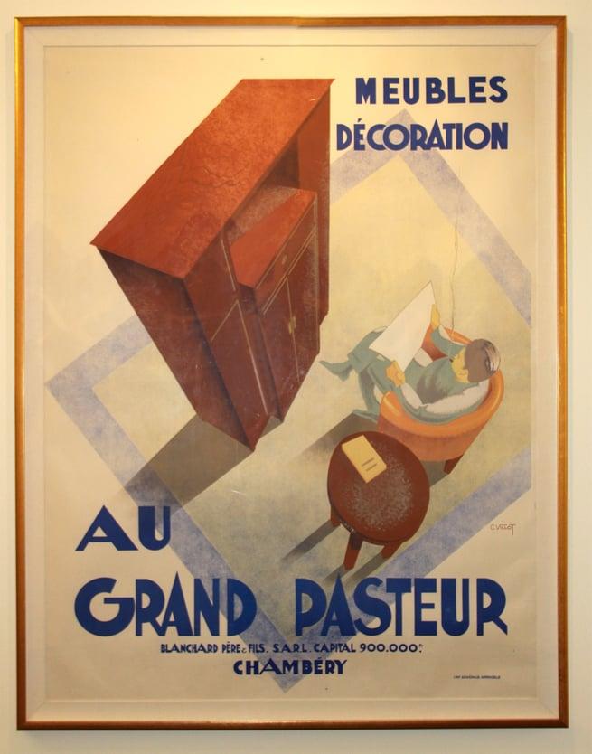 """Meubles Decoration """"Au Grande Pasteur"""" by Charles Villot"""