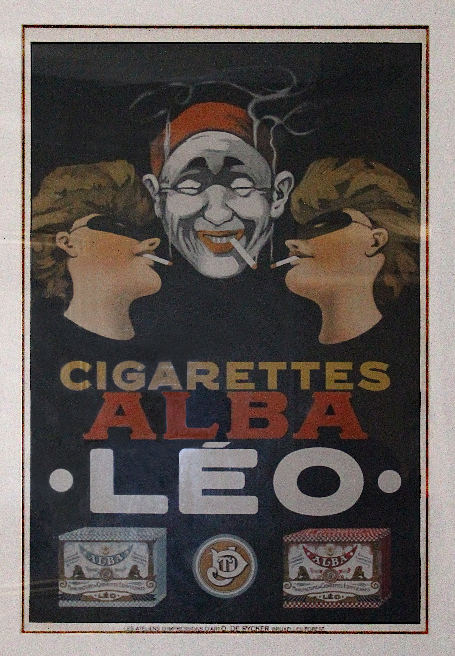 Cigarettes Alba Leo by Henri de Toulouse-Lautrec