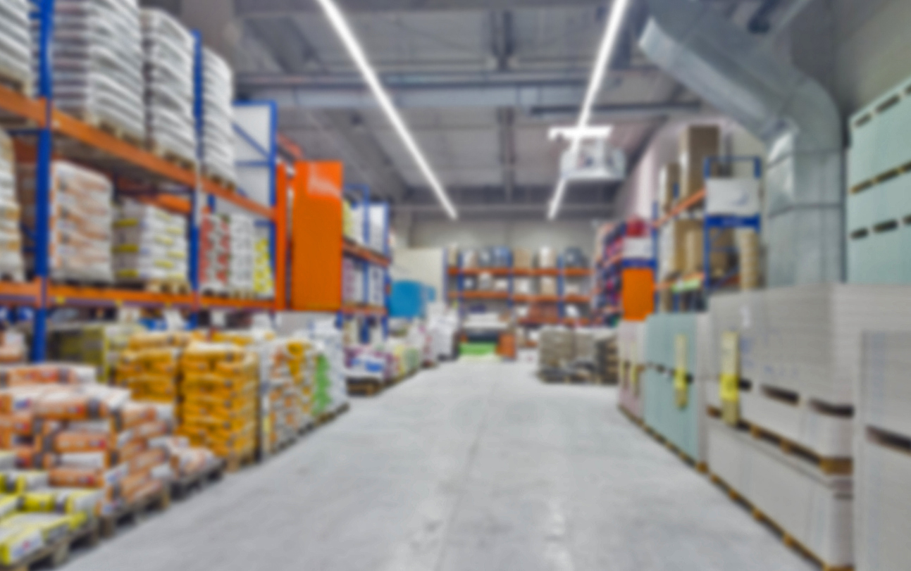 bldg supply center soft focus