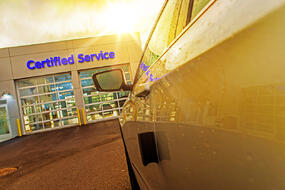 certified auto service department