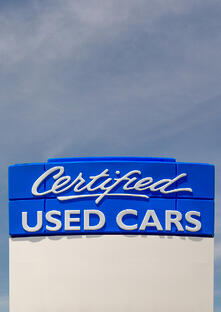 certified pre owned auto