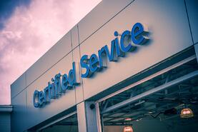 certified service department auto dealership