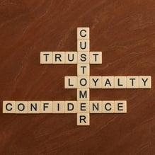 consumer loyalty scrabble pieces