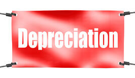 depreciation banner