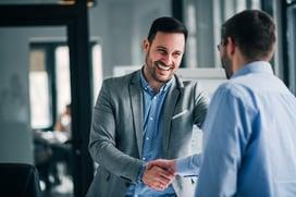 entrepreneur handshake