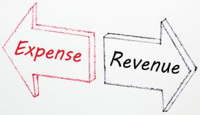 expense-revenue arrows