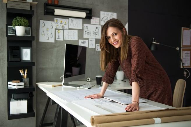 female furniture designer