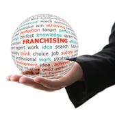 franchising globe icon