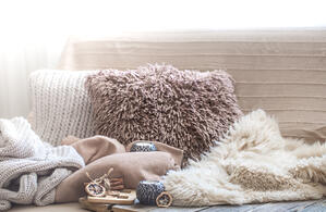 pillows blankets soft warm