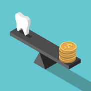 Money balanced tooth
