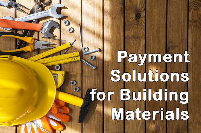 payment solutions bldg materials