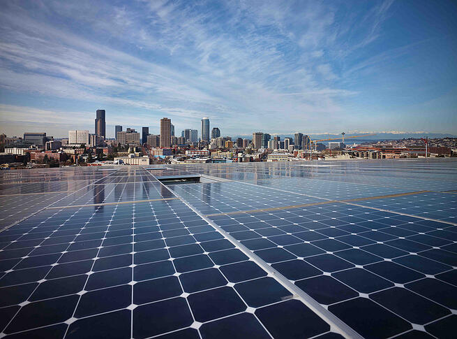 The Bullitt Center's Solar Panels - copyright Bullitt Center