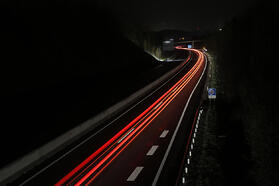 tail light trails