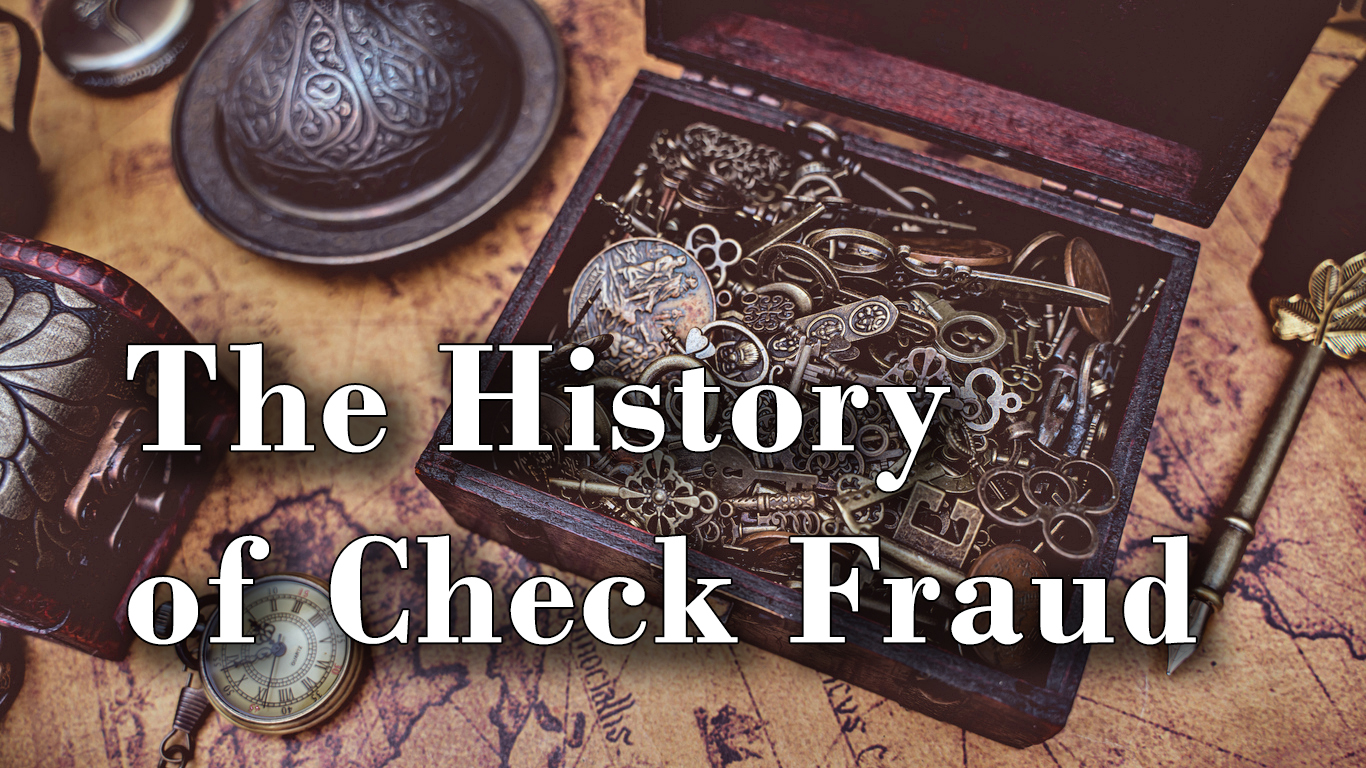 the history of check fraud