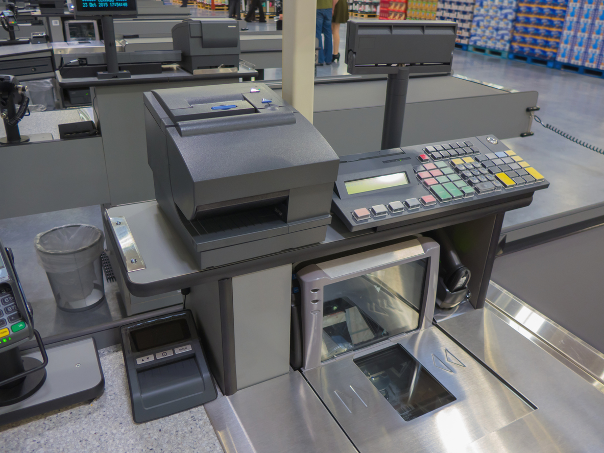 Retail POS Station